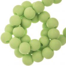 Acryl Kralen Mat (8 mm) Pastel Green (100 stuks)