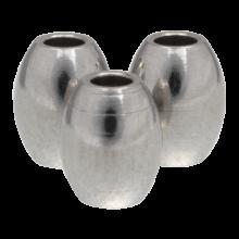 Stainless Steel Kralen (5 x 4 mm) Antiek Zilver (10 Stuk)