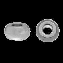 Stainless Steel Kralen (6 x 3 mm) Antiek Zilver (20 Stuks)