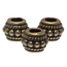 Metalen Kralen (6 mm) Brons (40 Stuks)