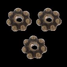Metalen Kralen / Spacers (4 mm) Brons (40 Stuks)