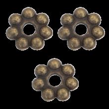 Metalen Kralen / Spacers (8 mm) Brons (40 Stuks)