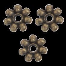 Metalen Kralen / Spacer (8 mm) Brons (40 Stuks)