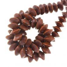 bayong kleur licht bruin mooie houtkralen 10 mm