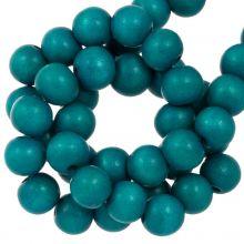 azure blauw kleur houten kralen mooi