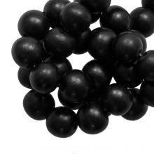 Houten Kralen Intense Look (20 mm) Pitch Black (20 stuks)
