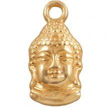 Bedel Buddha (15 x 7 mm) Goud (25 Stuks)