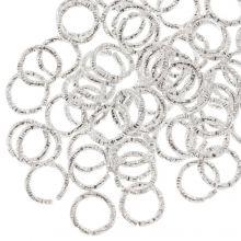 Buigringen (6  mm) Zilver (100 stuks) Dikte 1 mm