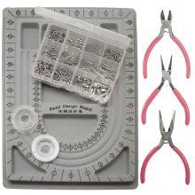 Startpakket Sieraden Maken (Stainless Steel) Antiek Zilver