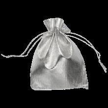 Metallic zakjes (7 x 9 cm) Silver (20 Stuks)
