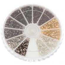 Set - Draadbeschermers (5 x 4 x 1 mm) Mix Color (540 stuks)