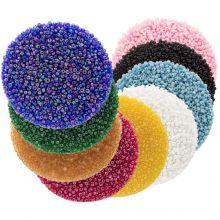 Voordeelpakket - Rocailles (2 mm / 9 x 50 gram) 'Mix Color'