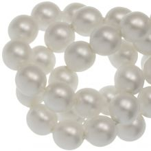 DQ Glasparels (6 mm) White Matt (80 Stuks)