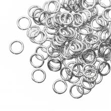 Buigringen (6 mm) Antiek Zilver (100 Stuks) dikte 0.8 mm