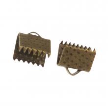 Lintklem (8 mm) Brons (20 Stuks)