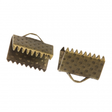 Lintklem (10 mm) Brons (20 Stuks)