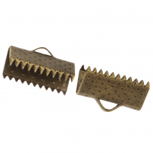 Lintklem (13 mm) Brons (100 Stuks)
