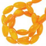Gekleurde Schelp Kralen (11 x 5 mm) Orange (40 Stuks)