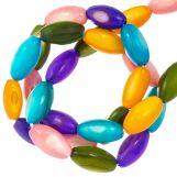 Gekleurde Schelp Kralen (11 x 5 mm) Mix Color (40 Stuks)