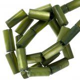 Gekleurde Schelp Kralen (10 x 4 mm) Green (36 Stuks)