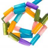 Gekleurde Schelp Kralen (10 x 4 mm) Mix Color (36 Stuks)