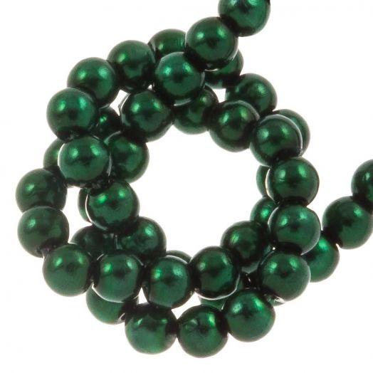 DQ Glasparels (2 mm) Deep Emerald (150 Stuks)