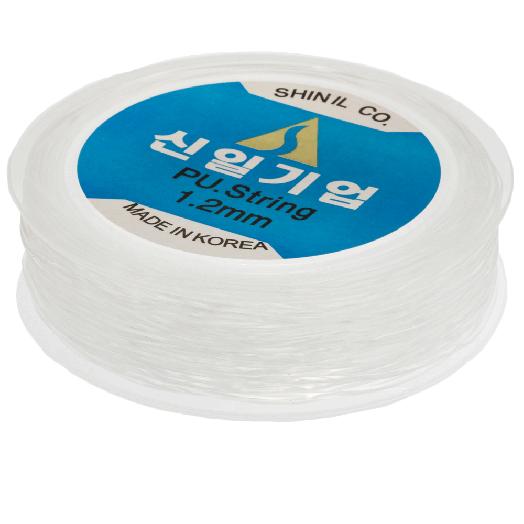 Top Kwaliteit Elastiek (1.2 mm) Transparant (20 Meter)