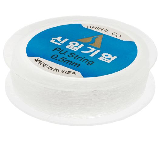 Top Kwaliteit Elastiek (0.5 mm) Transparant (90 Meter)