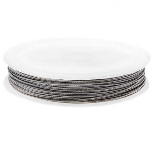 Metaaldraad (0.5 mm) Zilver (Rol a 40 meter)
