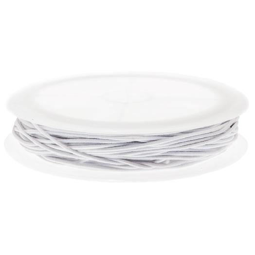Elastiek (1,5 mm) White (6,3 Meter)