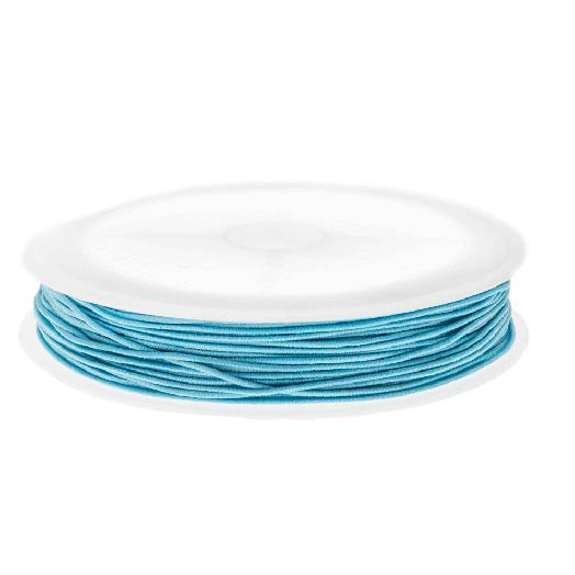 Elastiek (0.6 mm) Baby Blue (19 Meter)
