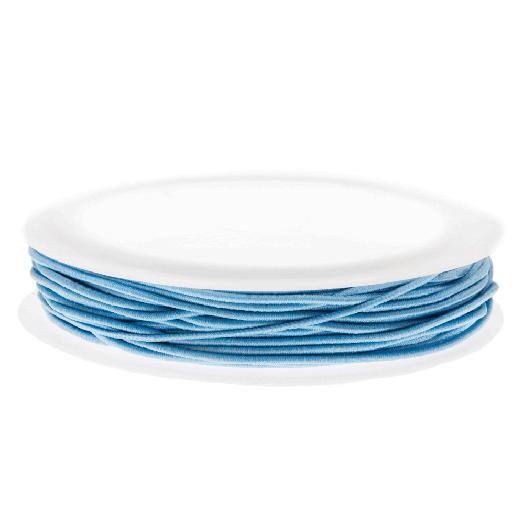 Elastiek (0.6 mm) Light Blue (19 Meter)
