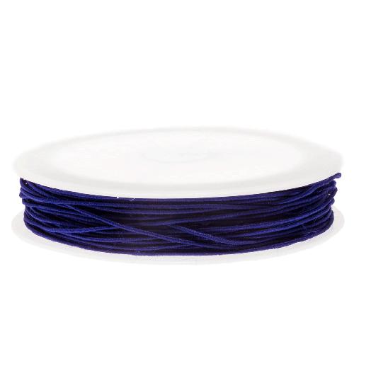Elastiek (0.6 mm) Indigo Blue (19 Meter)