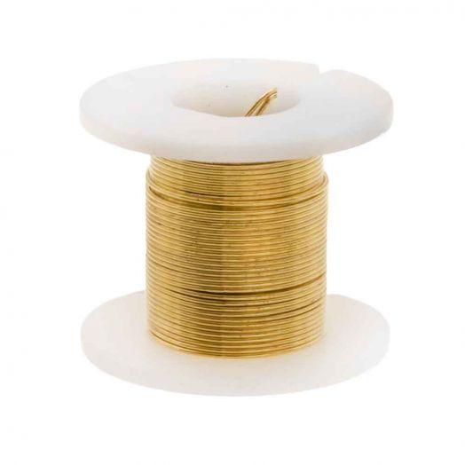 Koperdraad (0.40 mm) Goud (2.75 Meter)