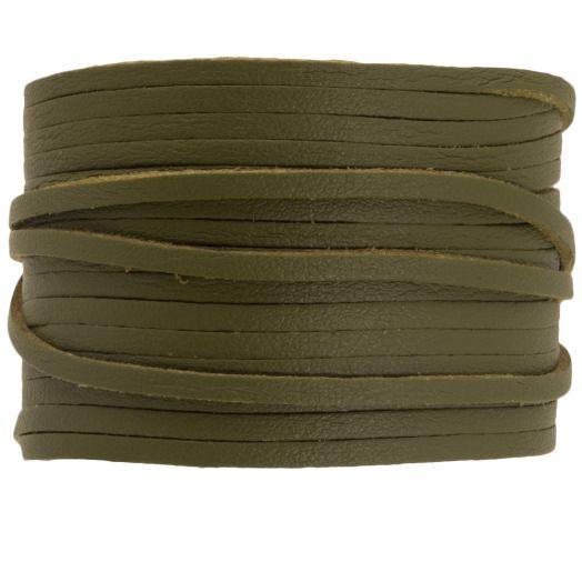 Letaher Look (Olive Green) 3 mm (10 Meter)