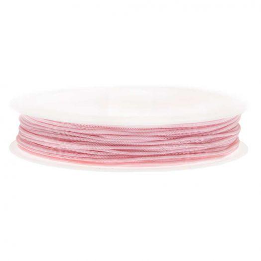 Satijnkoord (0.5 mm) Baby Pink (25 Meter)