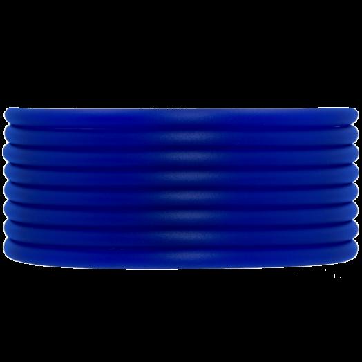 Rubber Koord (3 mm) Royal Blue (5 Meter) holle binnenkant