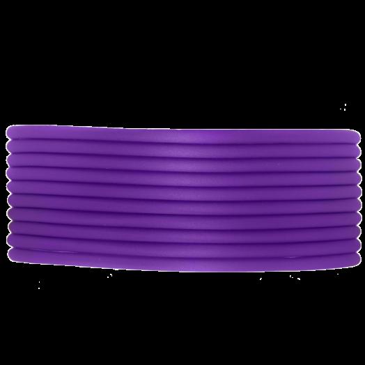Rubber Koord (2 mm) Perfect Purple (5 Meter) holle binnenkant
