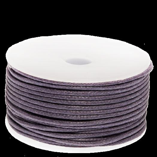Waxkoord (1.5 mm) Purple Haze (25 Meter)