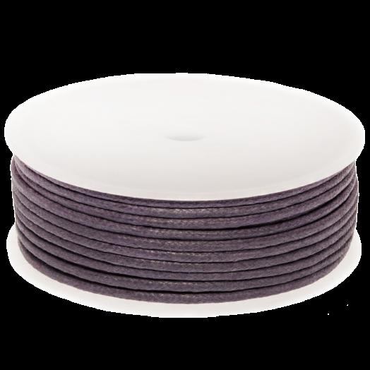 Waxkoord (2 mm) Purple Haze (25 Meter)