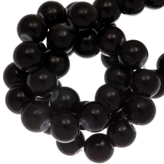 Glaskralen (6 mm) Black (36 Stuks)