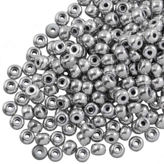 DQ Rocailles (4 mm) Silver (25 Gram / 350 stuks)