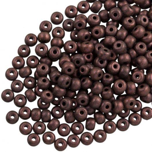 DQ Rocailles (4 mm) Dark Brown (25 Gram / 350 stuks)