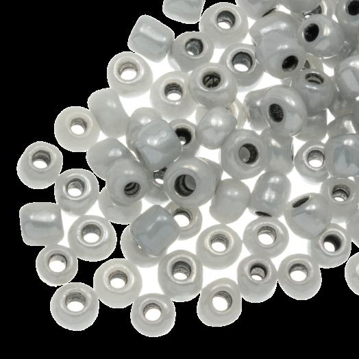 Rocailles (4 mm) Grey (100 Gram)