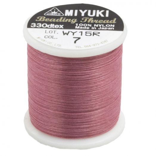 Miyuki Draad (50 Meter) Pink