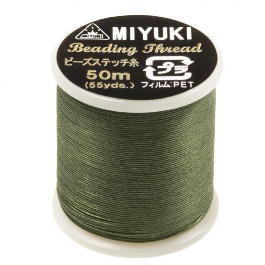 Miyuki Draad (50 Meter) Green