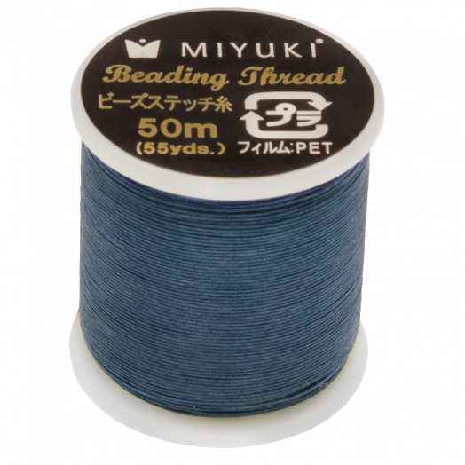 Miyuki Draad (50 Meter) Dk.Blue