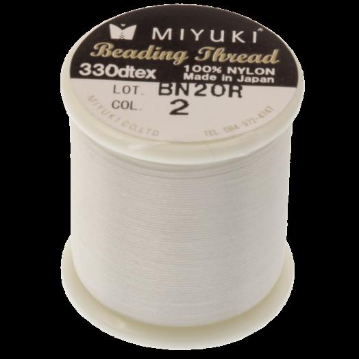 Miyuki Draad (50 Meter) Eggshell