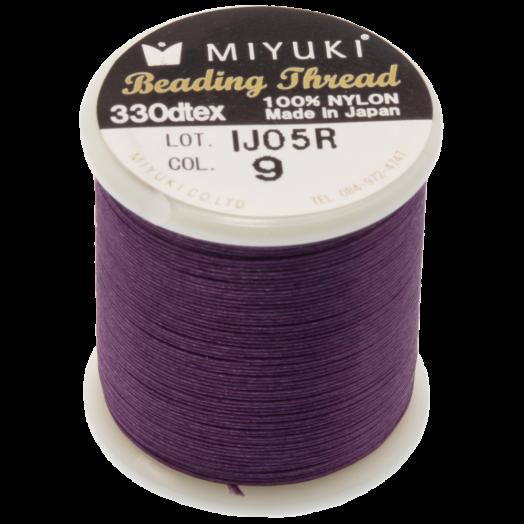 Miyuki Draad (50 Meter) Purple