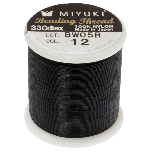 Miyuki Draad (50 Meter) Black